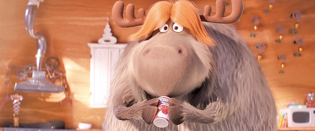 怪怪傑飼養的馴鹿弗萊德,身材肥胖可愛,拉起雪橇來稱得上稱職。