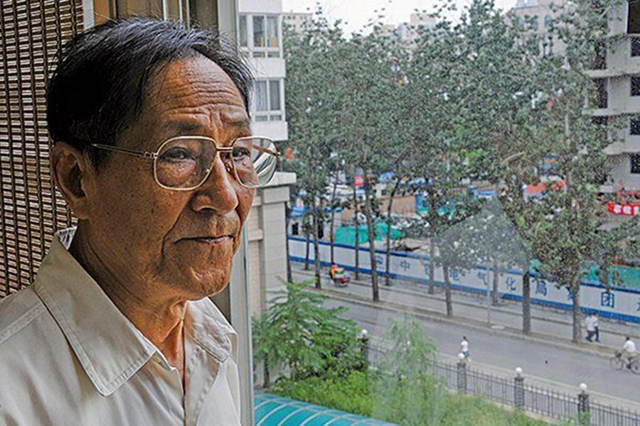 中共前總書記趙紫陽的政治秘書鮑彤(AFP)