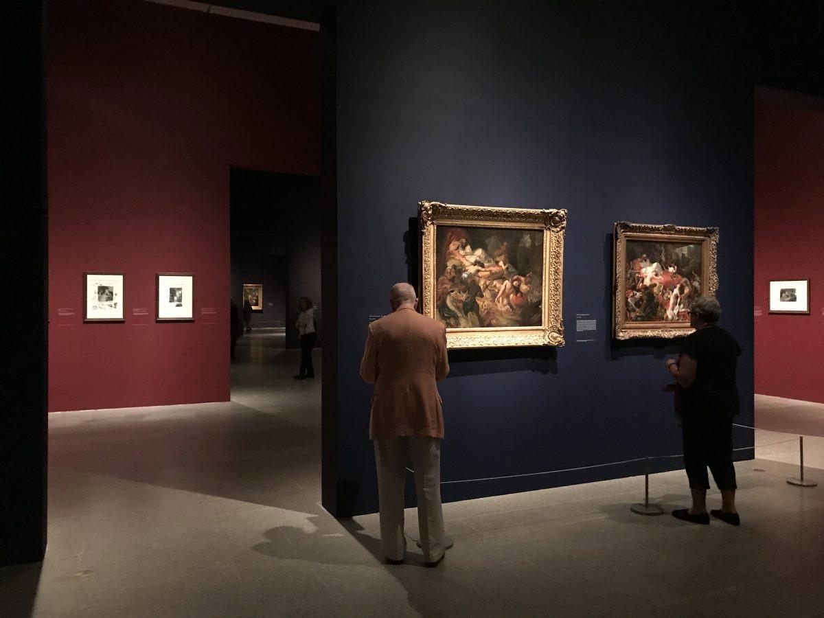 大都會博物館中的展覽分十二個展廳。(Milene Fernandez/英文大紀元)