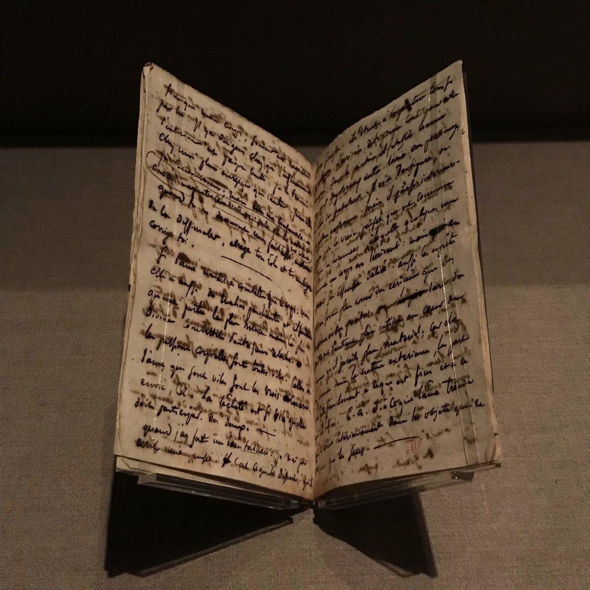 手稿,德拉克羅瓦(1822 年9 月3日- 十月27日)(Milene Fernandez/英文大紀元)