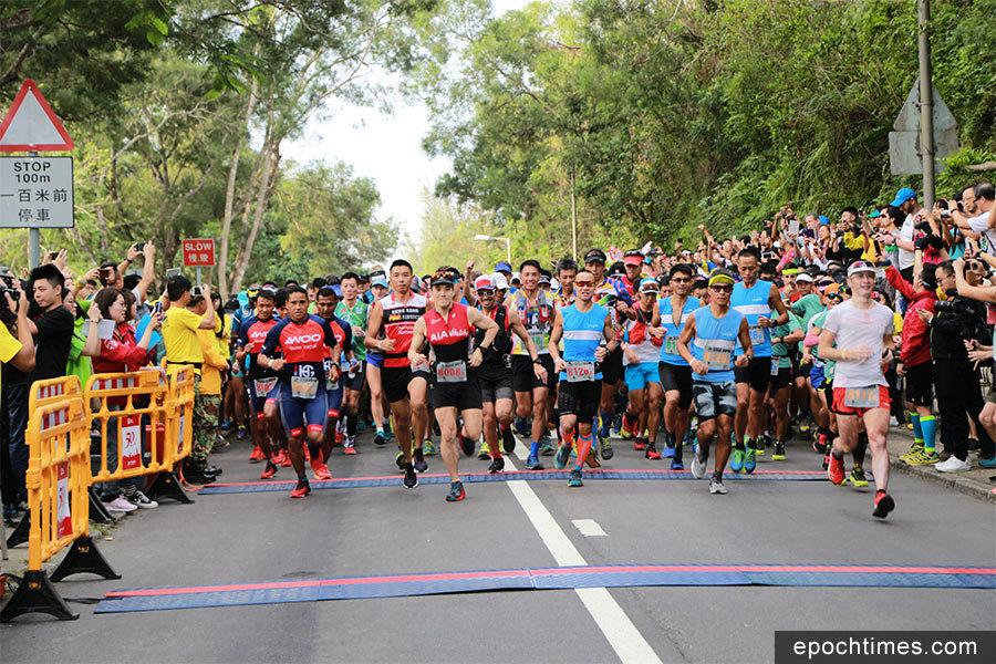 五千毅行者挑戰百公里麥理浩徑
