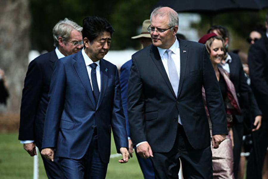 日相訪澳 增雙邊合作 反擊中共印太擴張