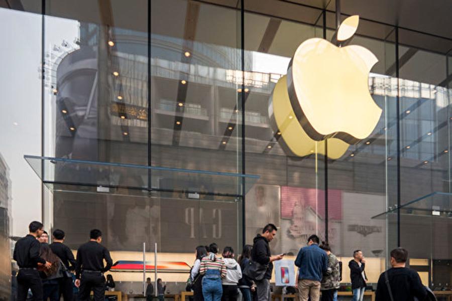 蘋果公司將從2月28日起,把中國的iCloud業務轉由雲上貴州大資料產業發展有限公司接管。 ( VCG/VCG via Getty Images)