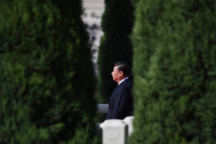 消息稱,這一結果讓江澤民十分心慌,在不得已的情況下,暫時接受了習近平作為接班人選。(Getty Images)