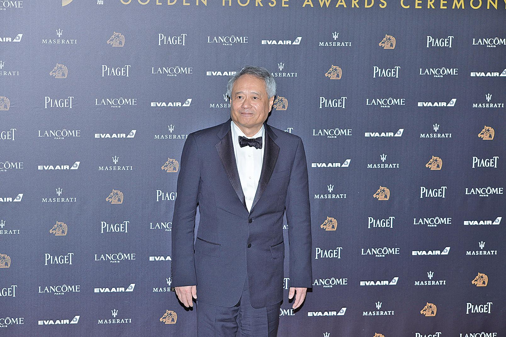 李安擔任第55屆金馬獎執委會主席,回應政治議題:台灣是自由的。(大紀元圖片)