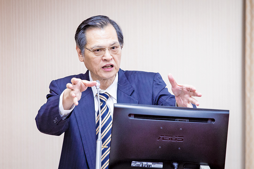 台陸委會主委陳明通19日表示,中共會以各種方式介入民主國家選舉,企圖干擾或影響選情。(大紀元)