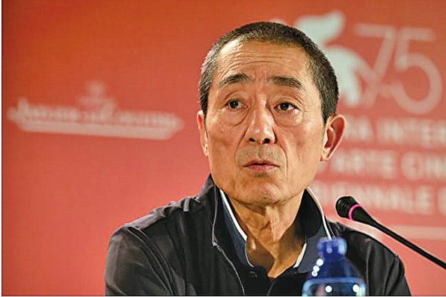2A大陸電影導演張藝謀。(Getty Images)