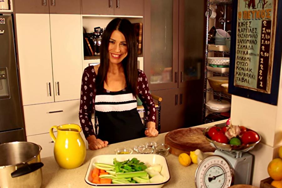 澳洲希臘電視台(GRTV Australia)女主播緹娜·索芙斯(Tina Sofos)。(本人提供)