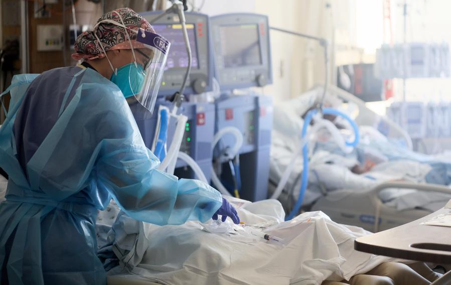 研究:感染中共病毒死亡風險比流感高3.5倍