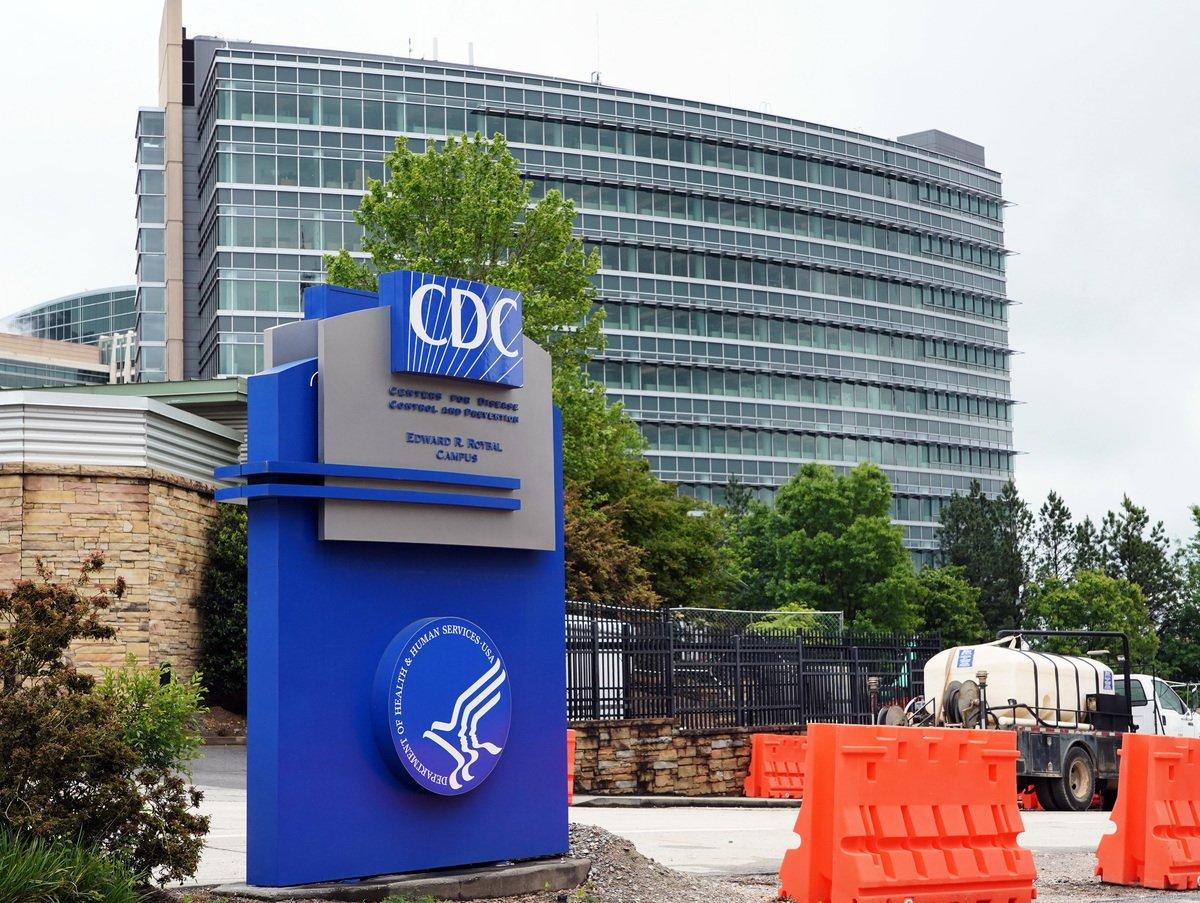 圖為位於亞特蘭大的CDC概貌。(TAMI CHAPPELL/AFP via Getty Images)