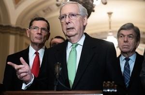 麥康奈爾:彈劾總統案 民主黨不想遵循先例