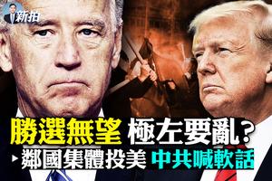 【拍案驚奇】大選日極左騷亂?中共鄰國紛投美