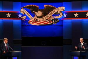 特朗普拜登誰贏首場辯論 民調:贏家只有一位