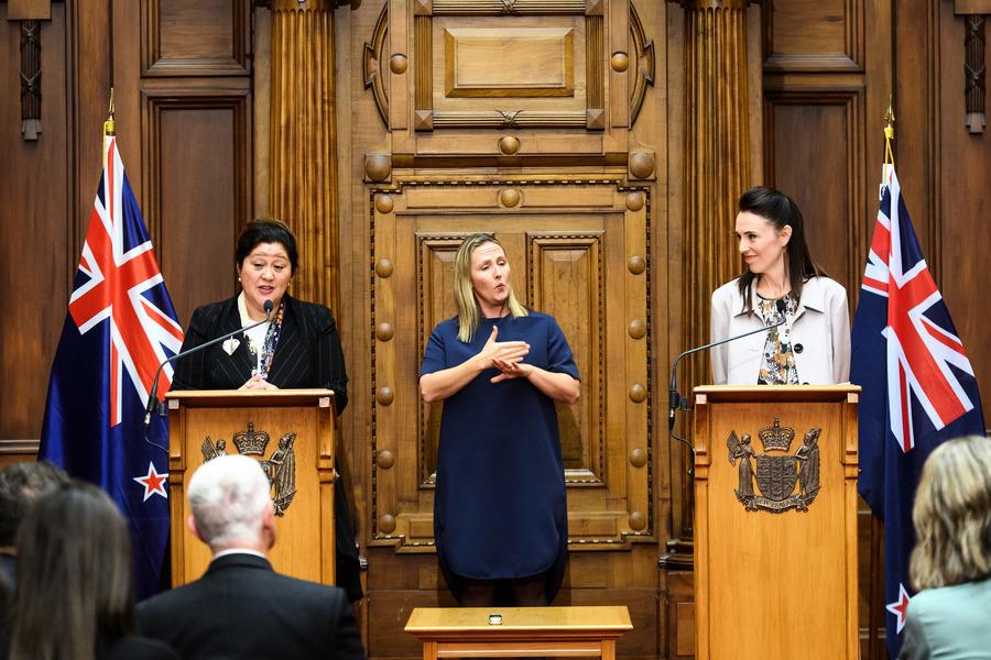 組圖:紐西蘭總理宣佈下一任總督人選