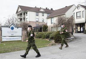 加拿大疫情告急 安省政府請求軍方派遣醫療人員