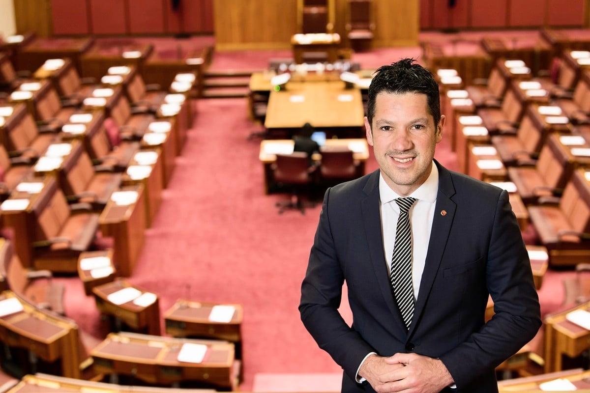 澳洲聯邦參議員安蒂克(Alex Antic)。(本人提供)