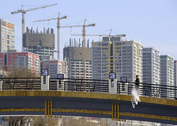 北京公寓大樓。(LIU JIN/AFP/Getty Images)