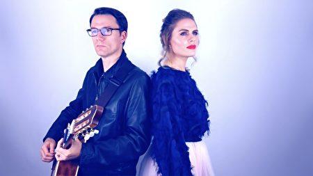 帕特里克(Patrick)和尤利婭(Yulia),是獨立樂隊——「臨時居民」(The Temporary Residents)樂隊的創始人。(由「臨時居民」樂隊提供)