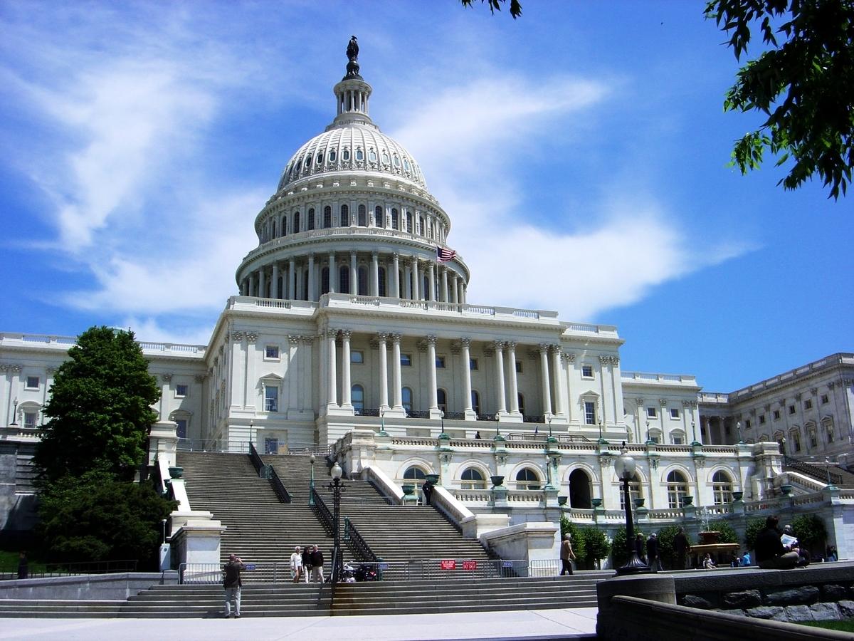目前共和黨在參議院擁有多數黨的優勢地位,但失去了對眾議院的掌控權。圖為美國國會。 (Kevin McCoy/維基百科公有領域)