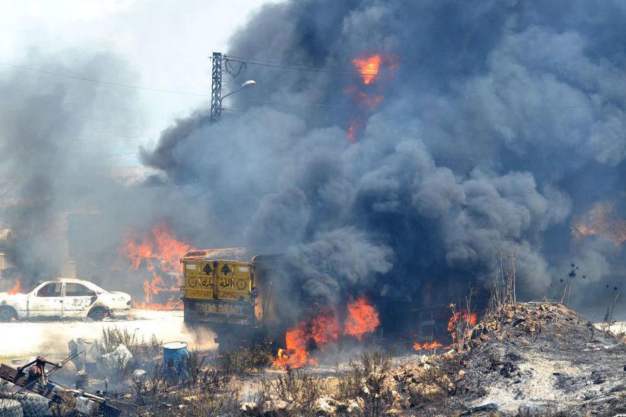 黎巴嫩北部發生油箱爆炸 至少20人死79傷