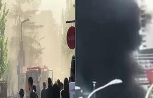 北京近日連爆火災 上海東方明珠附近現濃煙