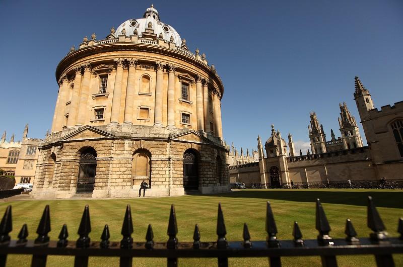 圖為英國牛津大學校貌。圖片來源:Getty images