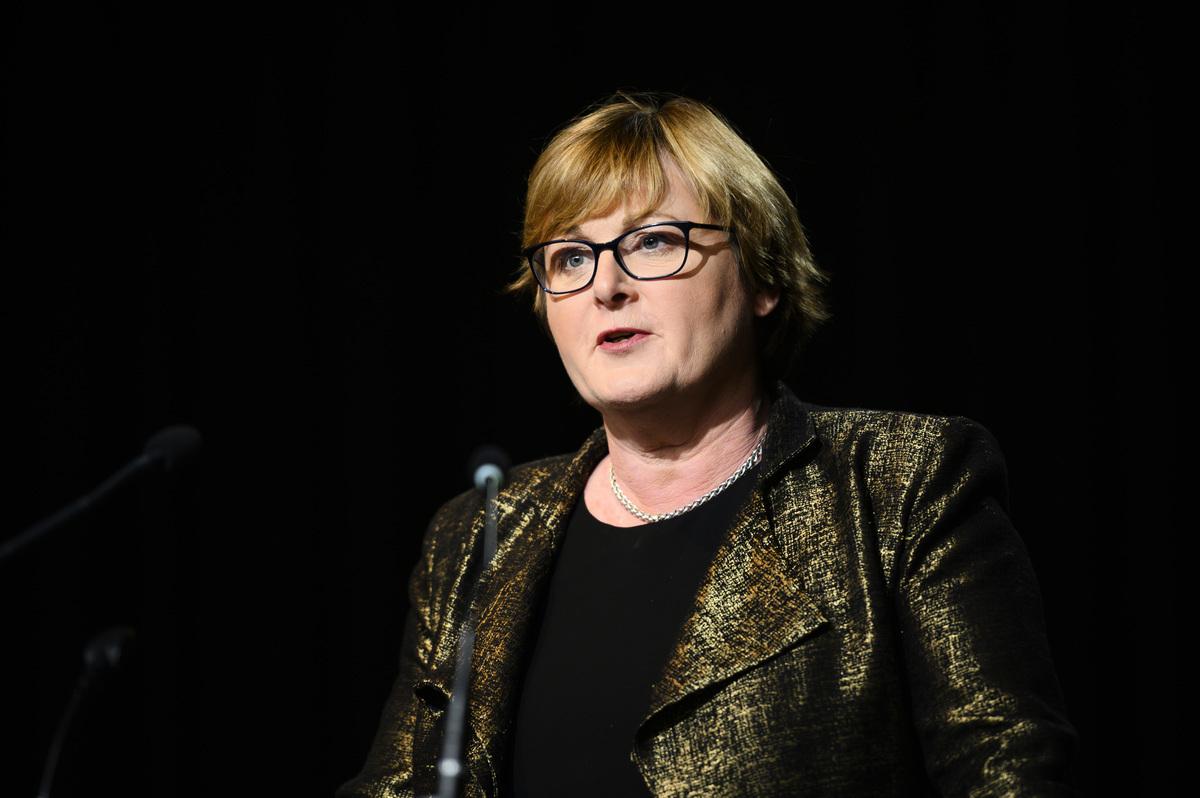 澳洲國防部長雷諾茲(Linda Reynolds)資料照。(Rohan Thomson/Getty Images)