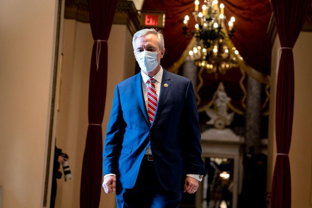 美國國會議員眾議員約翰‧卡特科(John Katko)。(Stefani Reynolds/Getty Images)