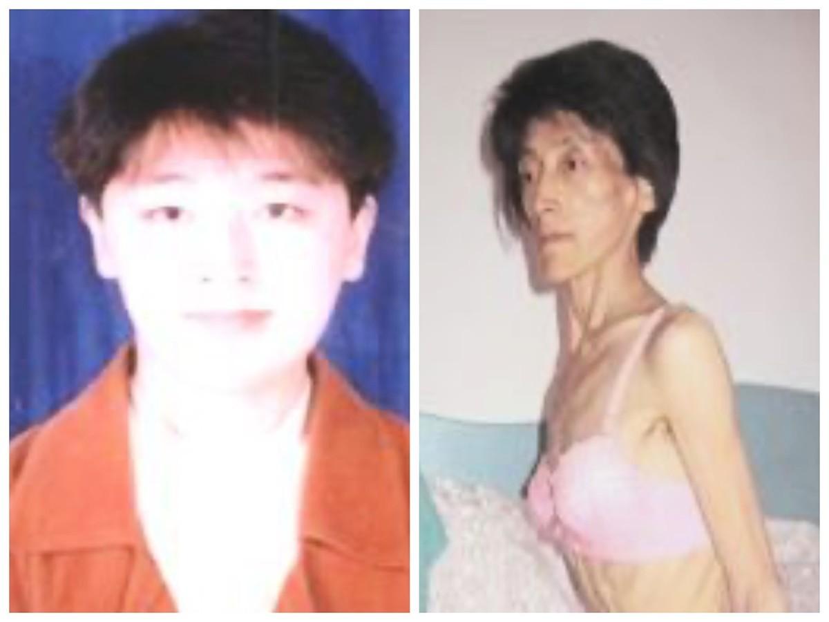 曾遭非法判刑12年的吉林省舒蘭市法輪功學員宋彥群,近日再被非法關押在吉林看守所。圖為被迫害前後的宋彥群。(明慧網)