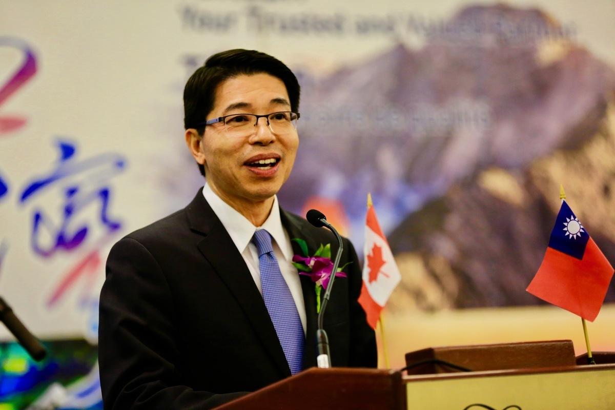 台灣駐加拿大最高代表陳文儀。(任僑生/大紀元)