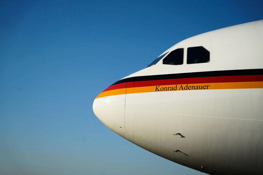 德國政府專機紐約爆胎 外長差點耽誤重要會議