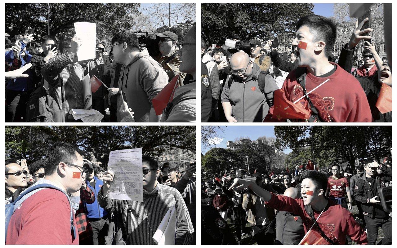 鍾錦江博士擔心各種各樣的紅色暴力會在澳洲蔓延。(安平雅/大紀元)