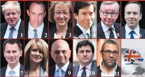 文翠珊首相辭職 11人角逐英國保守黨領袖