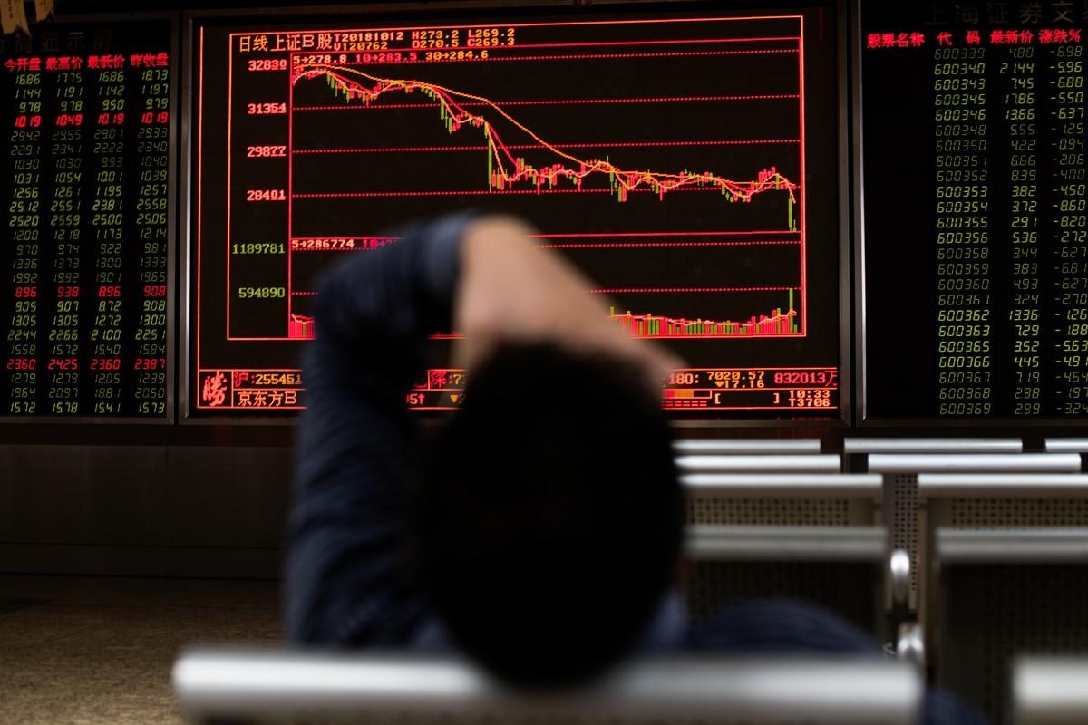 大陸股市示意照 (AFP)