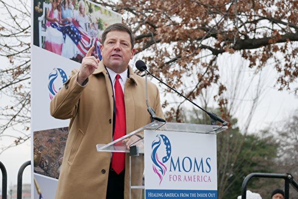 保守派團體「Phyllis Schlafly Eagles」主席、前密蘇里州共和黨主席埃德‧馬丁(Ed Martin)(李辰/大紀元)