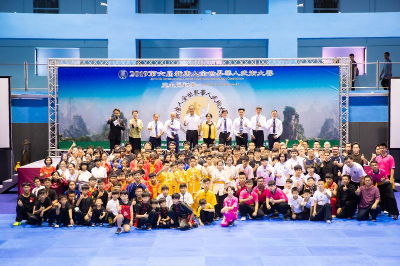 第六屆新唐人「全世界華人武術大賽」亞太區初賽6月8日在台北體育館舉行,本次比賽高手雲集,共有178位選手參賽。(陳柏州/大紀元)