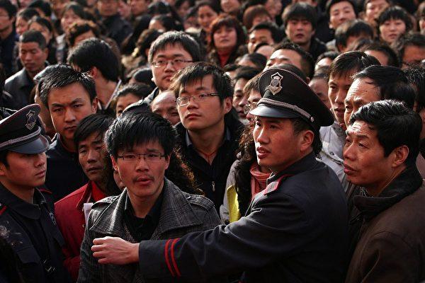 2020新年伊始,失業大潮嚴重沖擊中國社會,社交網絡上一片哀鴻;學者保守估計2020年兩千萬人失業,警告大規模的失業潮必然會爆發。(Getty Images)