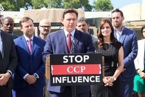阻止中共滲透 美國佛州州長簽兩項法案