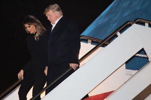 特朗普在空軍一號習特晚宴簡報會上講話摘譯