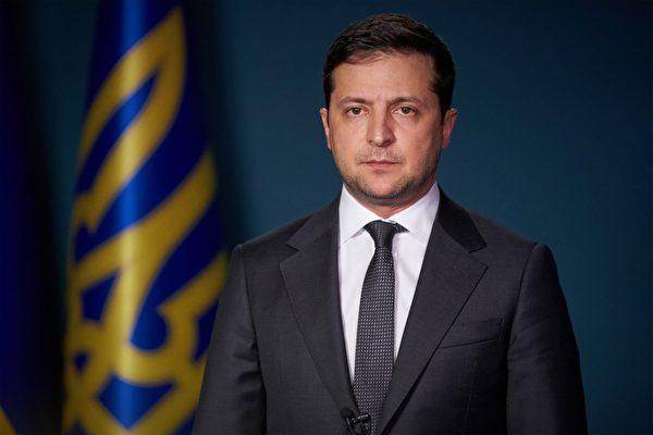 圖為烏克蘭總統弗拉基米爾·澤連斯基(Volodymyr Zelensky)。資料圖。(Handout / Ukrainian Presidential Press Service / AFP)