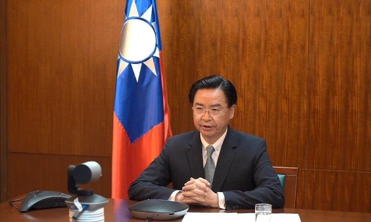 印度媒體Zee News電視台旗下WION國際頻道10月21日專訪中華民國外交部長吳釗燮。圖為示意圖,資料照(台外交部提供)