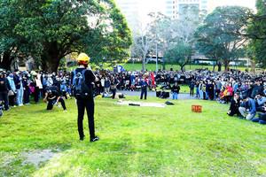 悉尼8‧18集會 各界再聲援港人守護自由