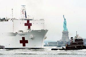 美國防授權法草案 籲美軍兩醫療船停靠台灣