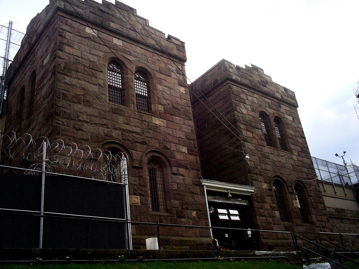 賓夕凡尼亞州Northampton縣監獄的入口。(Wikimedia Commons)