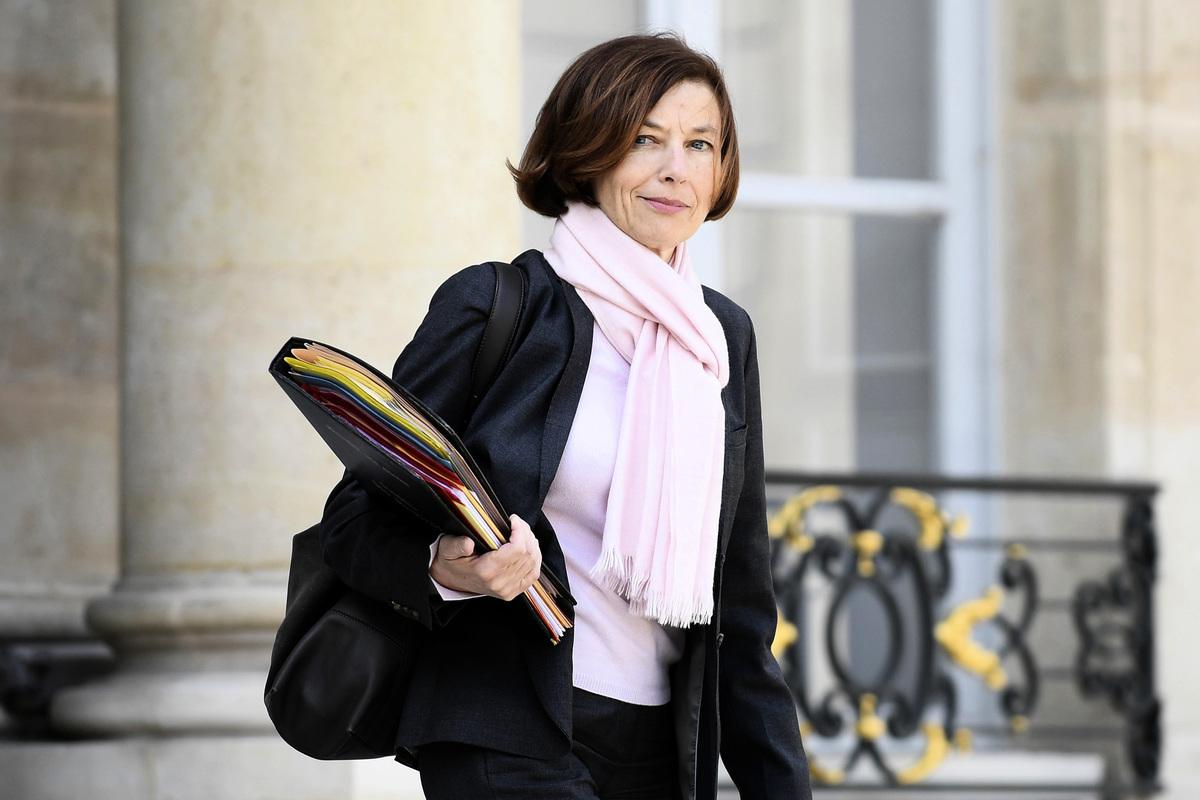 圖為法國國防部長帕利(Florence Parly)資料照。(JULIEN DE ROSA/POOL/AFP via Getty Images)