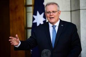 澳洲總理:不後悔與美英簽署核潛艇協議
