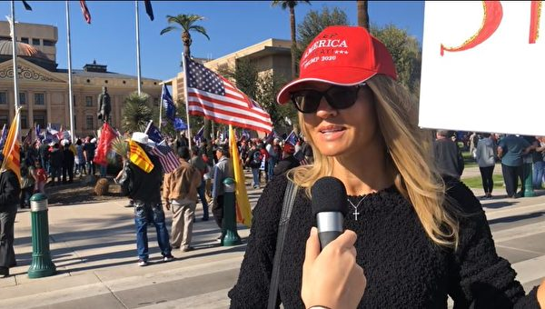「捍衛美國」 亞利桑那選民力挺特朗普到底