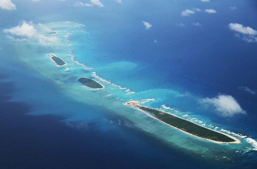 美智囊:中共在南海島礁新建設施 或供軍用