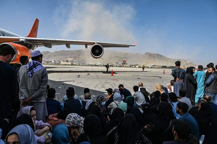 傳美將派數十架軍機前往阿富汗喀布爾