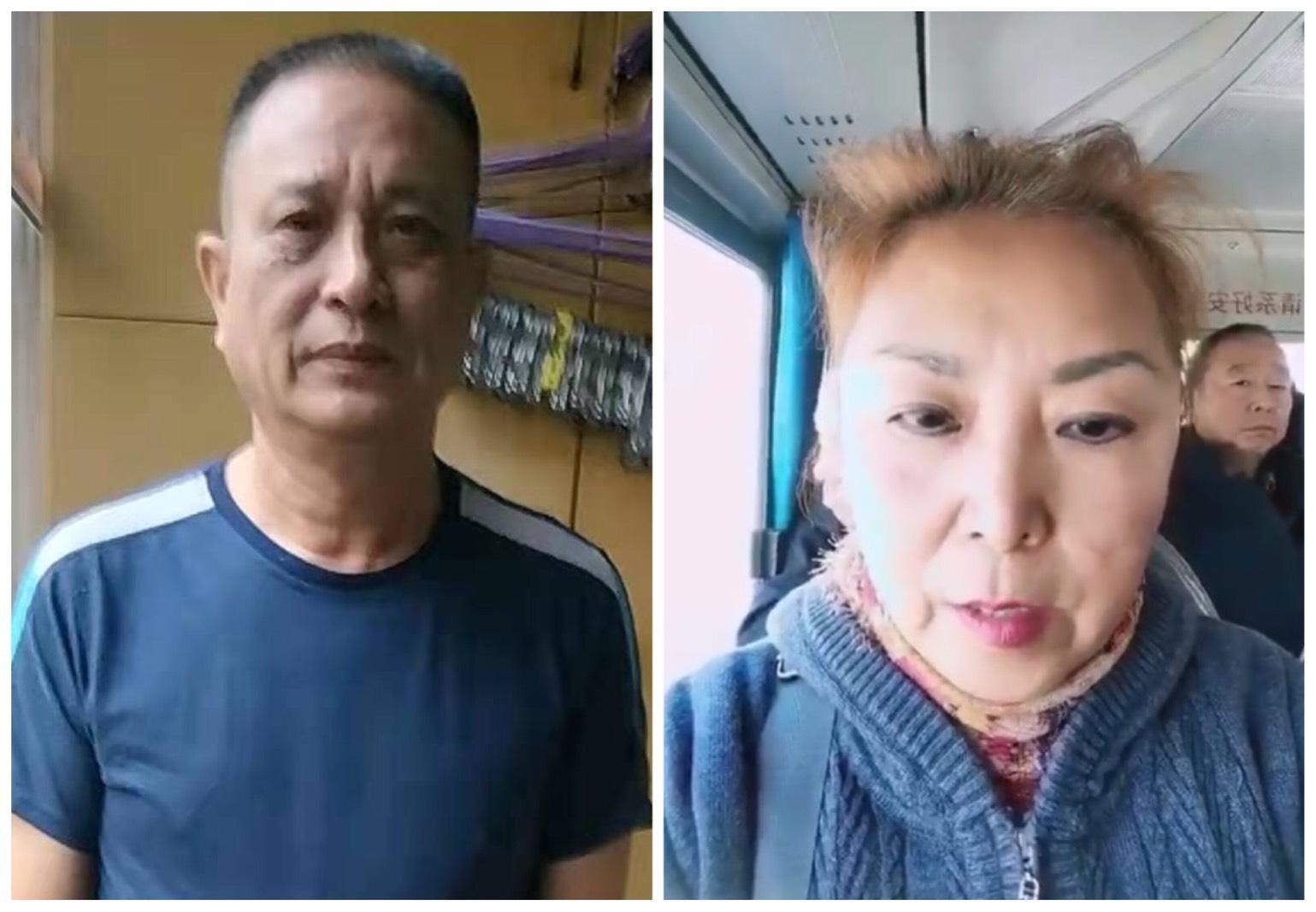 上海顧國平和黑龍江的馬波同時接到當地警方的約談。(大紀元合成圖)